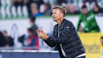 Jesse Marsch will seine Männer gegen den FC Bayern zum Sieg treiben.