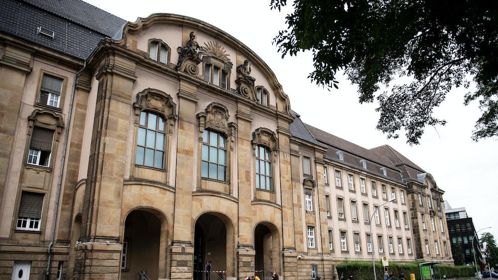 Das Landgericht in Mönchengladbach ist auch Sitz des Amtsgerichts.