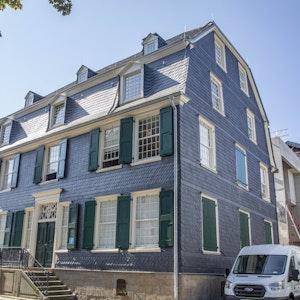 Das Engels-Haus in Wuppertal, aufgenommen am 8. September 2021