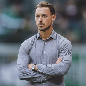RB Salzburgs Trainer Matthias Jaissle