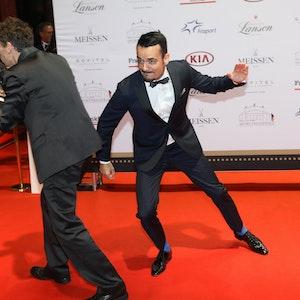 Giovanni Zarrella trat live mit seiner Giovanni Zarrella Show im ZDF auf. Doch in der ersten halben Stunde gab es keinen Auftritt. Woran lag das? Das Archivfoto wurde 2016 beim Deutscher Sportpresseball in Frankfurt am Main gemacht.