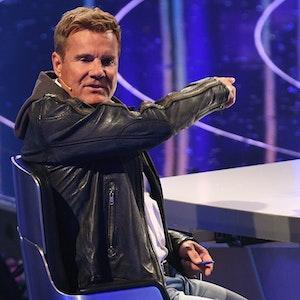 """Dieter Bohlen 2018 in der ersten Liveshow der 15 Staffel von """"Deutschland sucht den Superstar""""."""