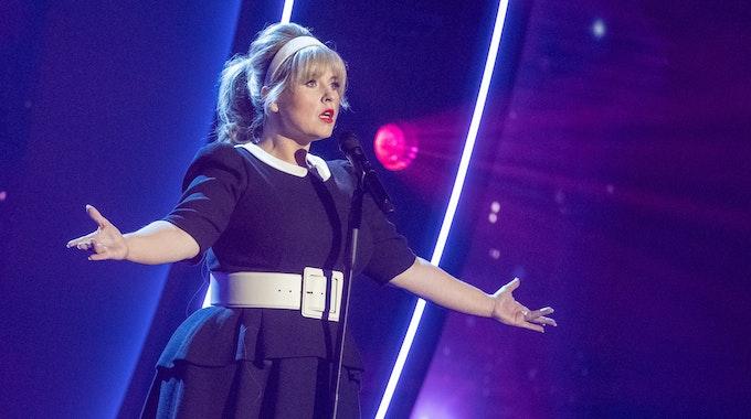 Maite Kelly performt einen Ausschnitt ihres neuen Bühnenprogramms im ZDF
