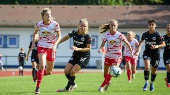 RB Leipzigs Zweitliga-Frauen hatten wenig Mühe mit Eintracht Frankfurt II.