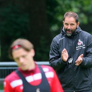 Stefan Ruthenbeck trainiert die U19 des 1. FC Köln.