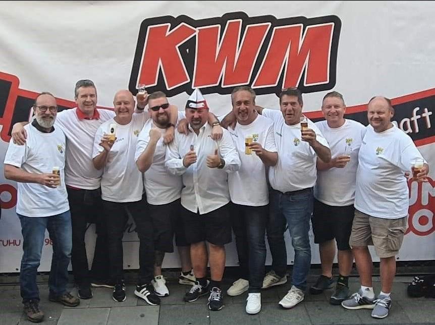 Team bei der Kamelle-WM 2021