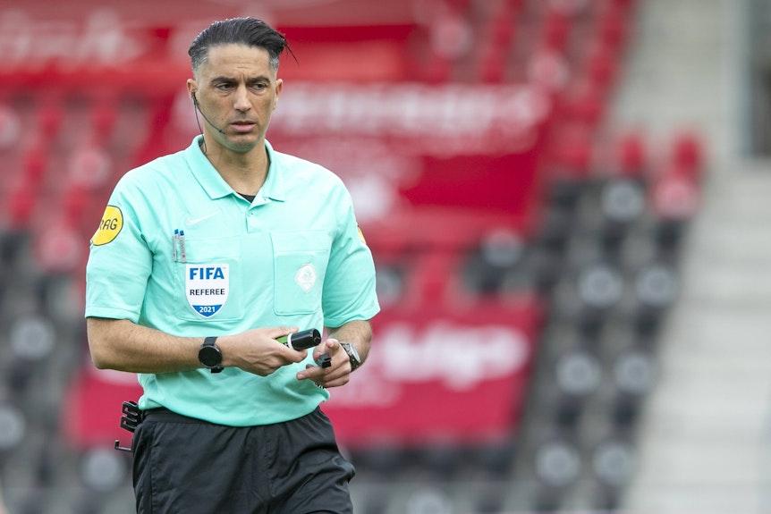 Schiedsrichter Serdar Gözübüyük war bislang eher ein Glücksbringer für deutsche Teams im Europapokal.