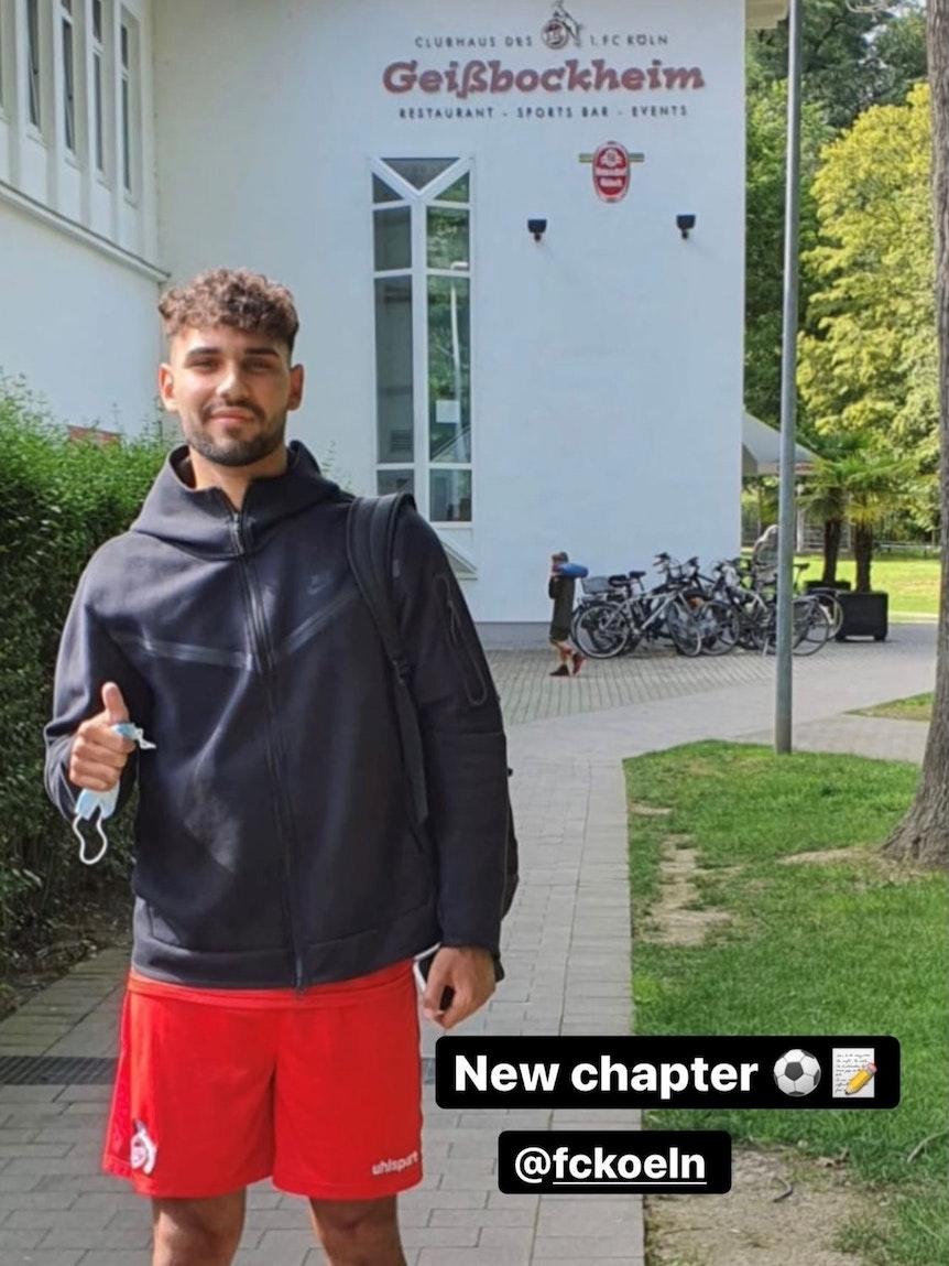 Mert Kuyucu spielt für die U21 des 1. FC Köln.