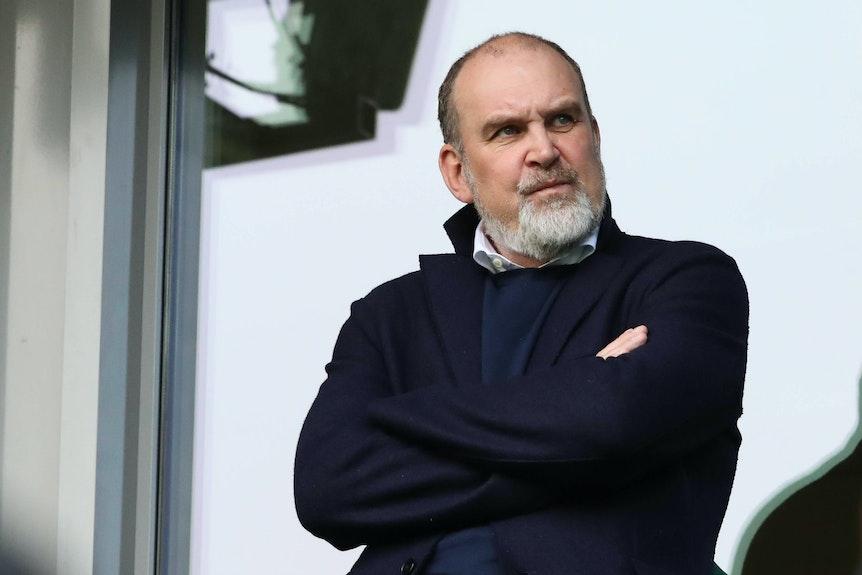 Manager Jörg Schmadtke (VfL Wolfsburg) schreibt RB nicht ab.