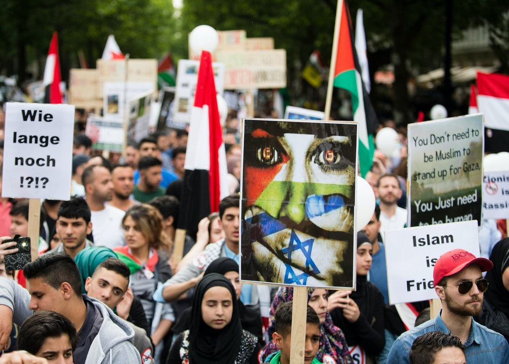 Die WDR-Journalistin hatte eine Teilnahme an der Al-Kuds-Demo in Berlin (hier ein Archivfoto von einer anderen Demo im Jahr 2015) eingestanden.