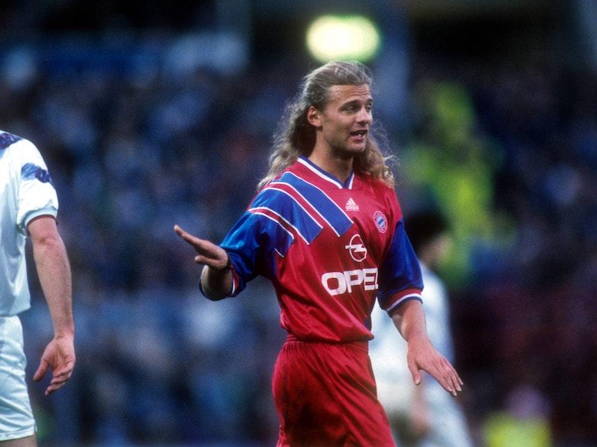 Alain Sutter 1994 im Trikot des FC Bayern München