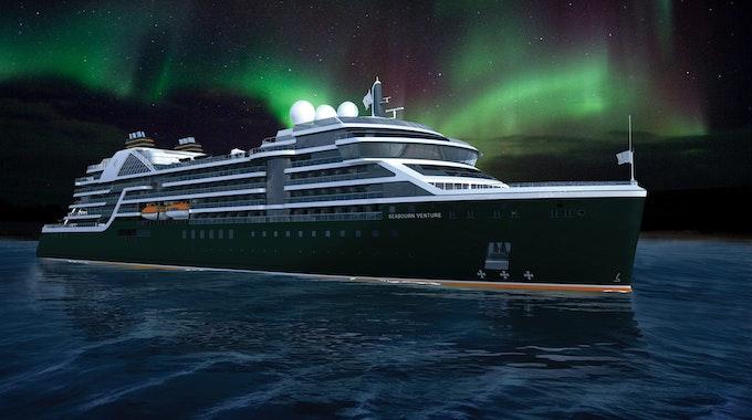 """Die """"Seabourn Venture"""" wird luxuriöse Expeditionskreuzfahrten unternehmen. An Bord befinden sich sogar zwei Mini-U-Boote."""