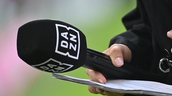 Mikrofon von DAZN
