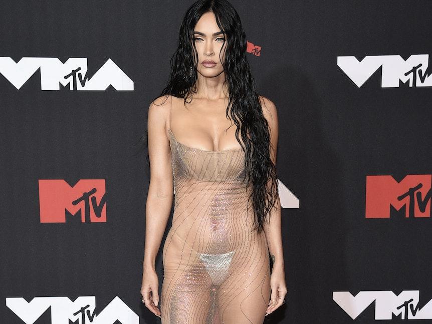 Megan Fox am 12. September bei den MTV Video Music Awards im New Yorker Barclays Center.