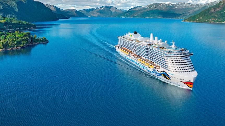 """Die """"Aida Cosma"""" ist ein Schwesterschiff der """"Aida Nova"""". Am 22. Dezember 2021 soll sie in See stechen."""