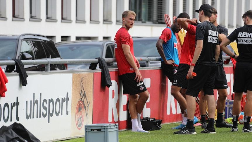 Sebastian Andersson trainiert beim 1. FC Köln.