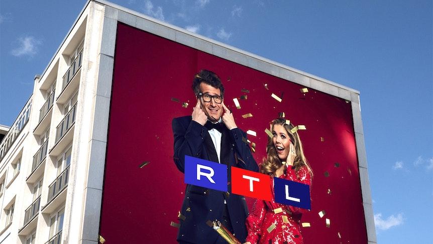 Let's Dance Billboard mit einem neuen RTL Logo