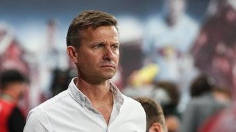Jesse Marsch steht vor schweren Wochen mit RB Leipzig.