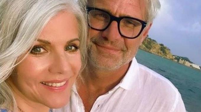 Birgit Schrowange und ihr Verlobter Frank Spothelfer in ihrer neuen Heimat Mallorca. Foto am 12.9 auf ihrem Iinstagram-Kanal gepostet. +++ Screenshot zur Berichterstattung erstellt