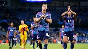 """""""Wir haben jetzt viel zu viele Spiele verloren und müssen schleunigst die Kurve kriegen"""": Lukas Klostermann nach dem 3:6 von Manchester."""