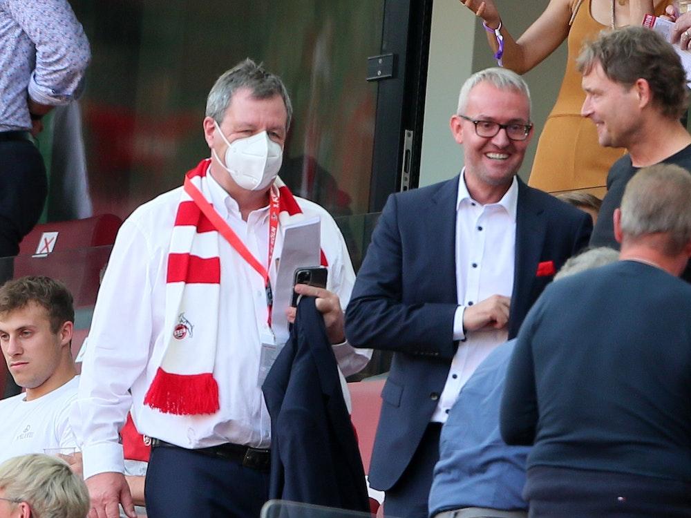 Werner Wolf, Alexander Wehrle (1. FC Köln), Marcus Sorg