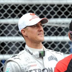 Michael Schumacher, hier am 25. November 2011 beim GP von Brasilien.