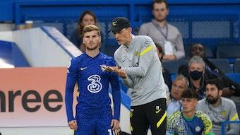 Timo Werner als Einwechsler beim FC Chelsea: Eine Zustand, an den sich der frühere Stürmer von RB Leipzig wohl gewöhnen muss.