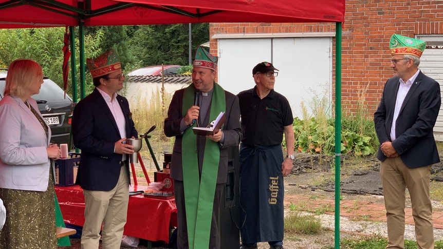 Monsignore Kleine segnete die Altstädter am 15. September in Fühlingen.
