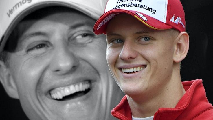 Mick Schumacher tritt in die F1-Fußstapfen seines Vaters Michael und fährt ebenfalls in der Königsklasse des Motorsports.