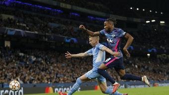 Schoss drei Tore gegen Manchester City: RB-Spieler Christopher Nkunku