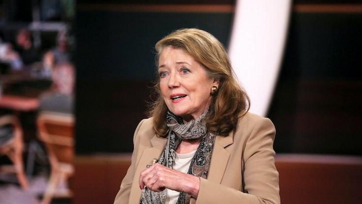 """Prof. Helga Rübsamen-Schaeff am 14. September 2021 in der ZDF-Talkshow """"Markus Lanz""""."""