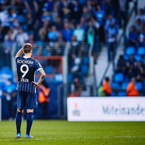 Simon Zoller bei seinem vorerst letzten Bundesliga-Spiel für den VfL Bochum