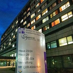 Das Krankenhaus in Merheim im März 2020.