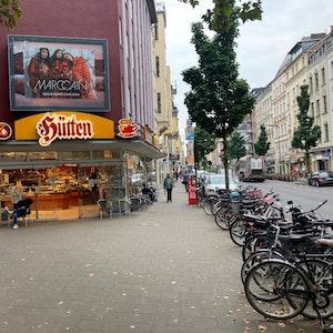 Die Traditions-Bäckerei Hütten in der Kölner Südstadt.