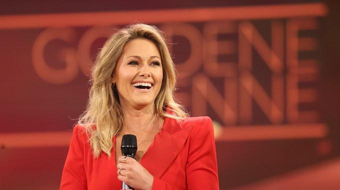 """Es soll alles andere übertrumpfen: Helene Fischer, hier bei der Verleihung """"Goldene Henne""""in Leipzig, erhält eine ZDF-Doku zu ihrem neuen Album """"Rausch""""."""