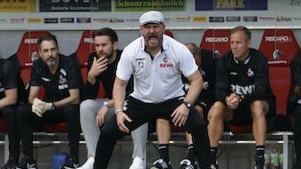 Mann mit der Mütze: Steffen Baumgart.
