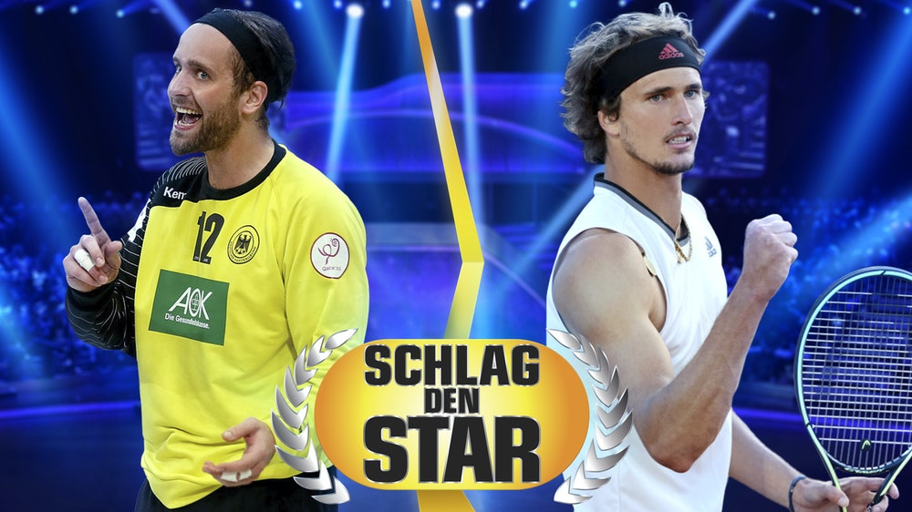 """Die neuen Kandidaten von """"Schlag den Star"""" stehen fest: Silvio Heinevetter (l.) und Alexander Zverev (r.) treten am 18. September gegeneinander an."""