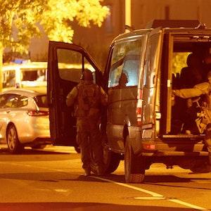 Einsatzkräfte der Polizei waren am Freitagabend (17. September 2021) in einem Düsseldorfer Hotel im Einsatz.