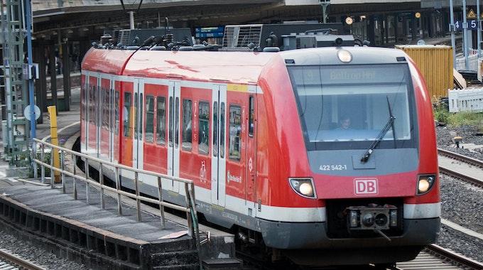 Foto einer S-Bahn von August 2017 in Wuppertal