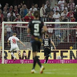 Ondrej Duda ließ das 2:1 für den 1. FC Köln gegen RB Leipzig liegen.
