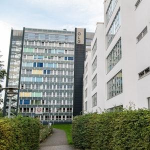 NRW: Das Gebäude des Oberlandesgerichtes in Hamm