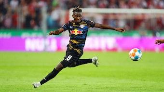 Amadou Haidara traf beim 1:1 von RB Leipzig beim 1. FC Köln zum Ausgleich für die Sachsen.