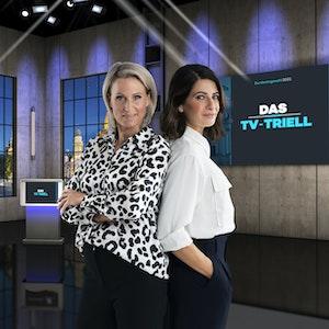 Am Sonntagabend empfangen Linda Zervakis und Claudia von Brauchitsch Armin Laschet, Annalena Baerbock und Olaf Scholz zum dritten und letzten TV-Triell vor der Bundestagswahl 2021.