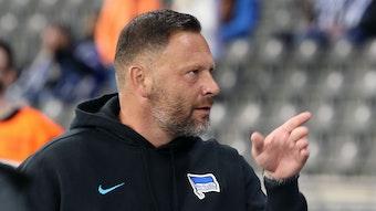 Pal Dardai hat vor dem Spiel mit Hertha BSC gegen RB Leipzig Mut geschöpft.