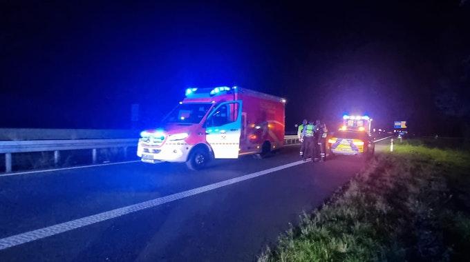 Zwei junge Männer sind bei einem Unfall auf der A43 bei Recklinghausen-Nord am frühen Montagmorgen (20. September) schwer verletzt worden. Es waren offenbar Drogen im Spiel.