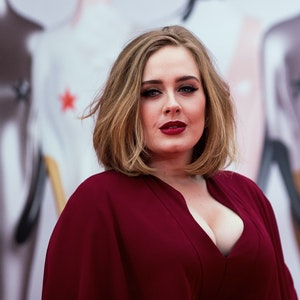 Die britische Sängerin Adele kommt zu den Brit Awards.