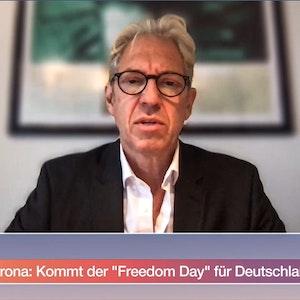 """Kassenärztechef Andreas Gassen verteidigte im ZDF-Morgenmagazin seinen Vorschlag, Ende Oktober einen """"Freedom Day"""" in Deutschland einführen zu wollen."""