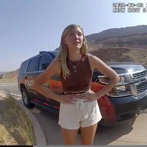 Die Suche nach Gabby (hier ein Foto aus einer Überwachungskamera) beschäftigte die Menschen auf der ganzen Welt. Sie wurde schließlich tot aufgefunden.