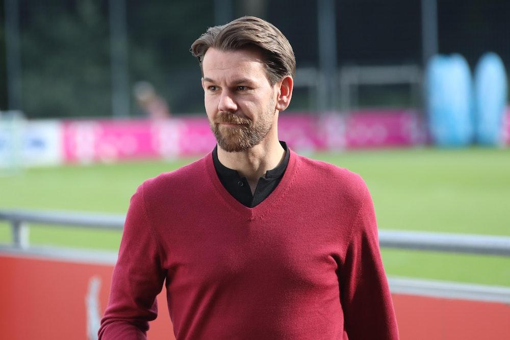 Am Geißbockheim in Köln: Thomas Kessler (1. FC Köln)