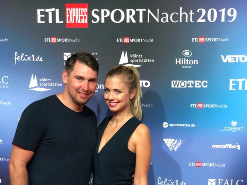 Ehepaar Helmes bei der EXPRESS Sportnacht 2019